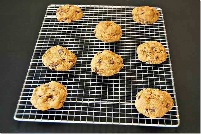 Pumpkin Chocolate Chip Cranberry Almond Cookies