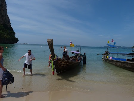 Obiective turistice Thailanda: Railay West Beach