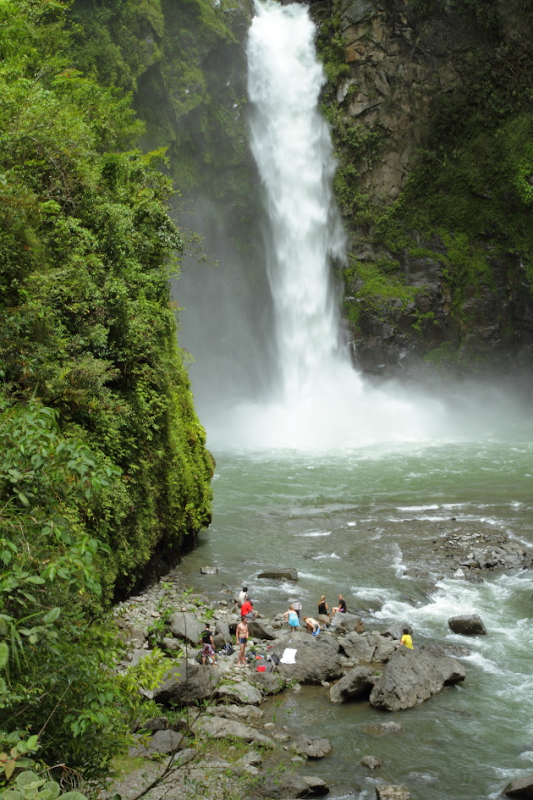 The majestic Tappiyah falls of Batad, Philippines