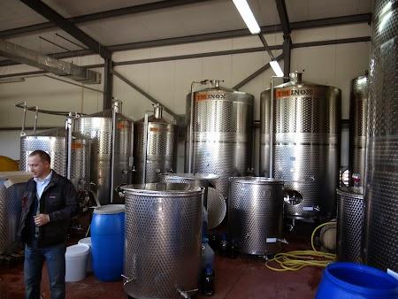 Drumul vinului -Basarabia:. Scoala vinificatie Nisporeni