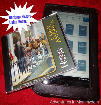 Heritage History living book curriculum