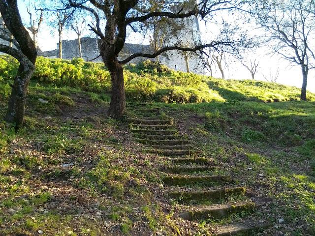 Lindas escadas Castelo Porto de Mós