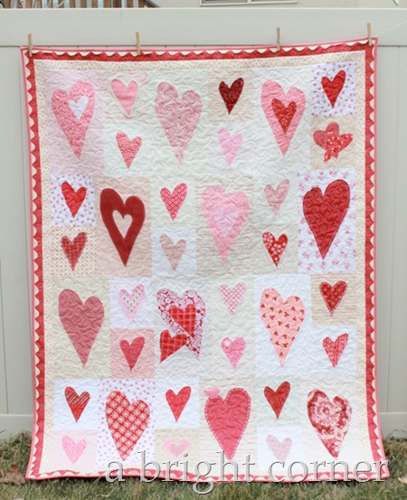Friendship Heart quilt