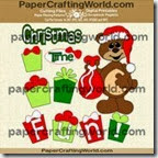 bear christmas time fun-ppr-cf-200