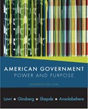American Government Power and Purpose