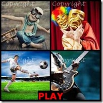 PLAY- 4 Pics 1 Word Answers 3 Letters