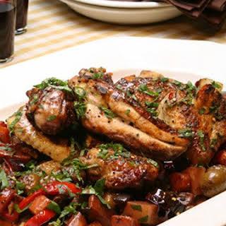 Spicy Sicilian Chicken.
