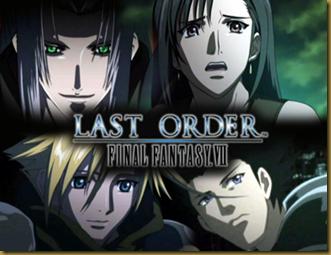 FFVII last order Animation
