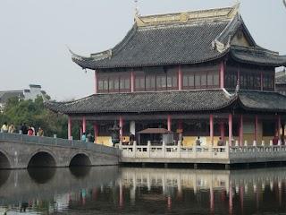 Temple Quanfu à Zhouzhuang