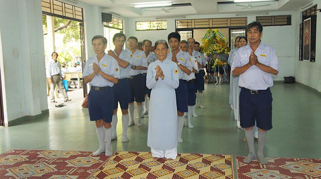 DSC06275 Lễ Hiệp kỵ   Lễ Huý Nhật Cư sĩ Sáng lập viên GĐPT Việt Nam   Tâm Minh Lê Đình Thám