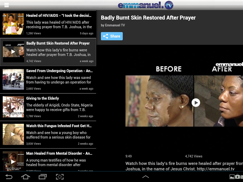 Emmanuel TV - Android Apps on Google Play