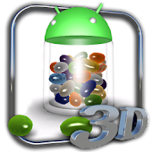 3D Jelly Bean Live Wallpaper