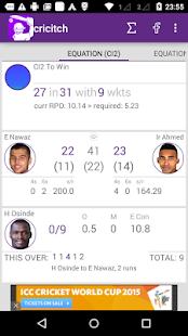 LIVE cricket Scores - cricitch - screenshot thumbnail