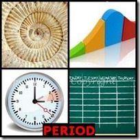 PERIOD- 4 Pics 1 Word Answers 3 Letters