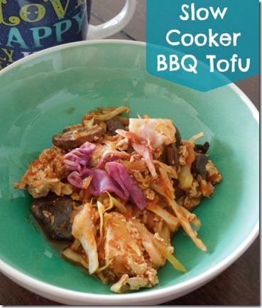 Crockpot Tofu
