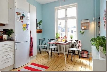 blue-wall-paint-kitchen-decorating-ideas-1