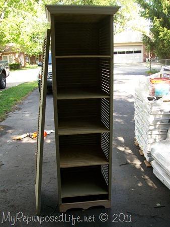 tall shutter cabinet