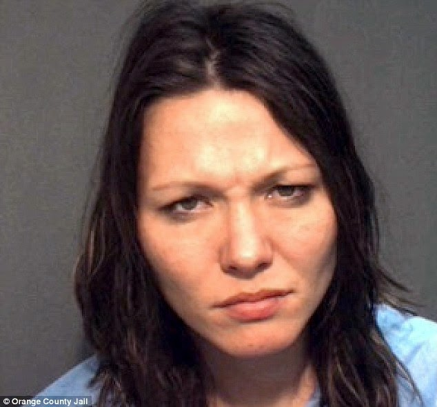 Amie Carter Arrested After Performing Sex Act In Front Of
