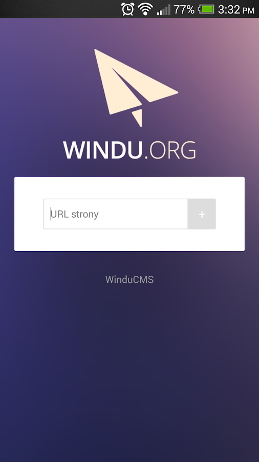 Windu CMS- screenshot