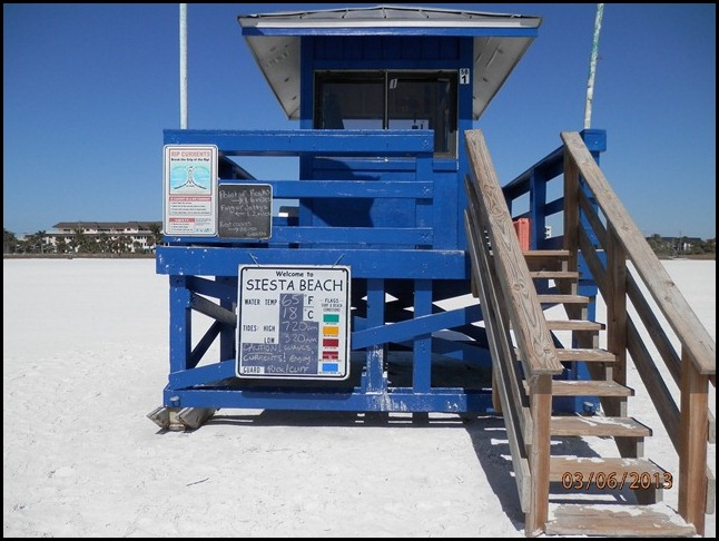 Lifeguard Station, one of many
