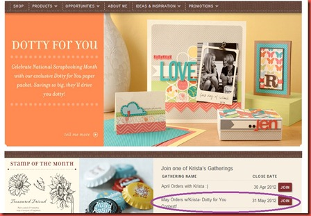 OBA circle join my May Dotty for you contest