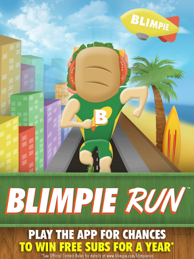 Blimpie Run - screenshot