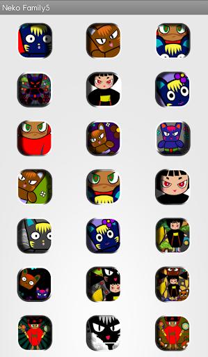 【免費生活App】Nekofamily theme 5-APP點子