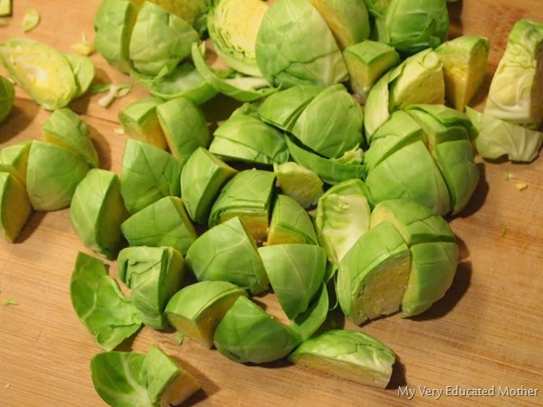 Quarterbrusselssprouts #brusselssprouts #recipes #bestfood