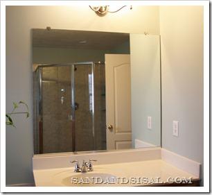 builder grade mirror