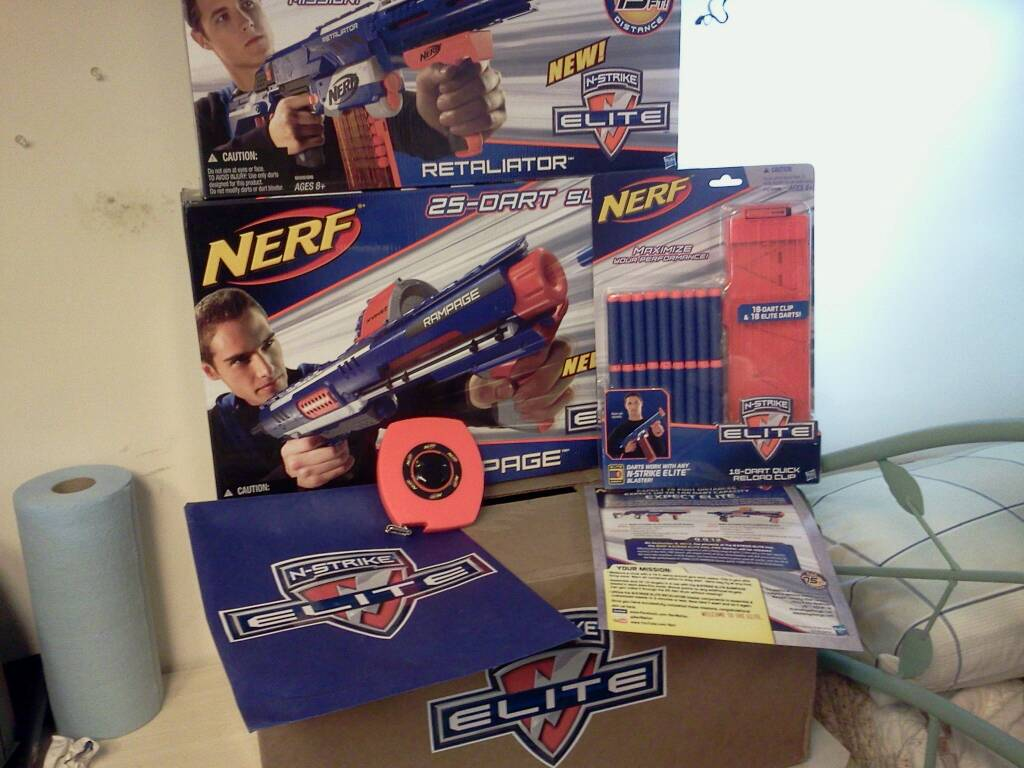 Nerf N Strike Elite Press Kit