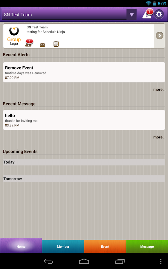 Schedule Ninja Beta - screenshot