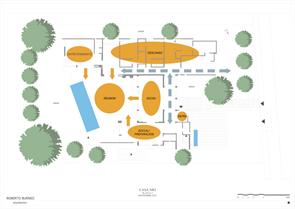 Plano de reformas Casa NR2 Roberto Burneo Arquitectos