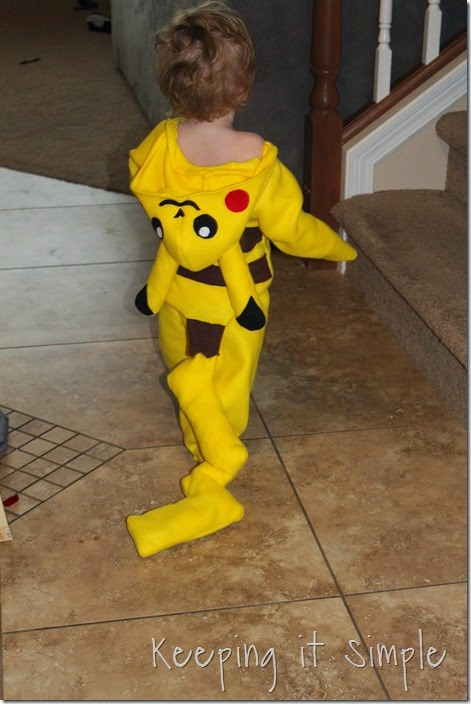 DIY Pokemon Pikachu Costume (7)