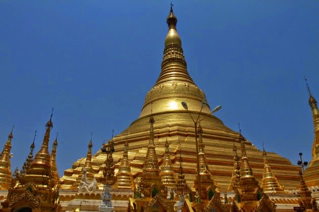 Shwedagon Pagoda - the pride of Myanmar