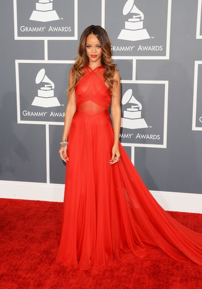 Rihanna 55th Annual GRAMMY Awards Arrivals (1)