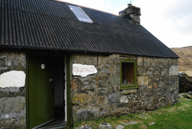 ANDY'S PICTURE OF MEANACH BOTHY