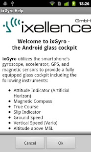 ixGyro Glass Cockpit Demo- screenshot thumbnail