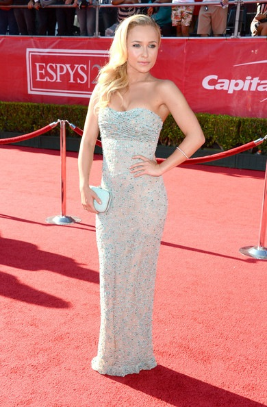 Hayden Panettiere arrives at the 2012 ESPY Awards