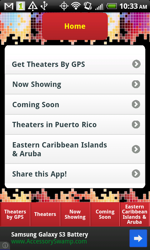 Caribbean Cinemas- screenshot