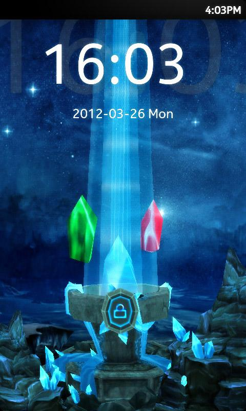 Download the GO Locker 3D Shrine Theme Android Apps On