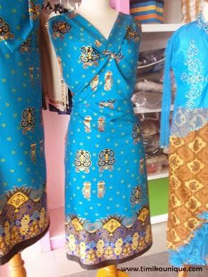 Gaun Pengantin Batik Papua