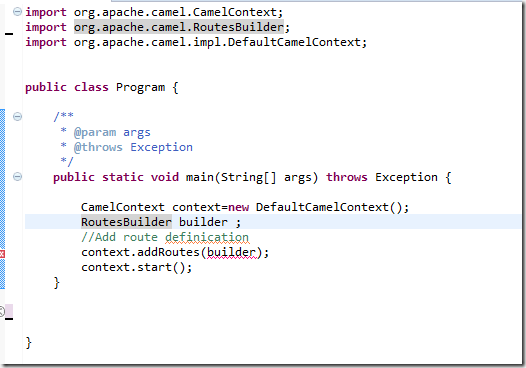 My Note on Solutions : Apache Camel tutorial : Quick start