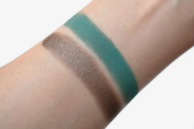 Vasanti Lake Palace Silky Eye Shadow Duo Swatches