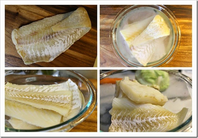 Mexican Style Salted Cod   Instructions step by step