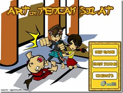 game-facebook-art-of-pencak-silat