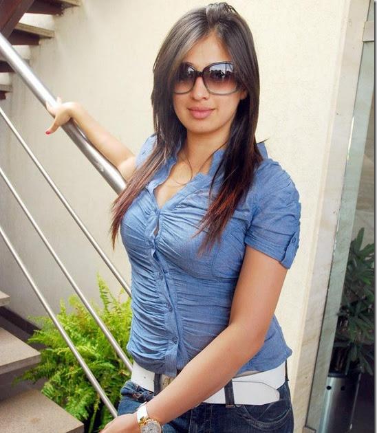 Lakshmi Rai Tight Jeans And Shirt Stills