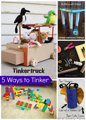 Encouraging Kids to Tinker