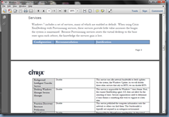 Terence Luk: Automating optimizations in Citrix's Windows 7