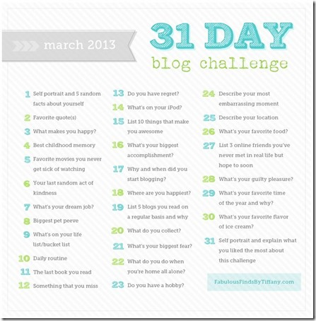 31 Day Challenge