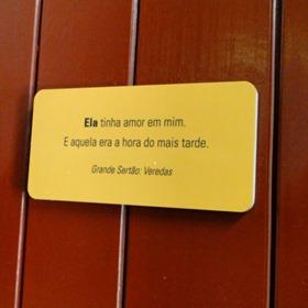 Museu Casa Guimarães Rosa - Banheiro Feminino